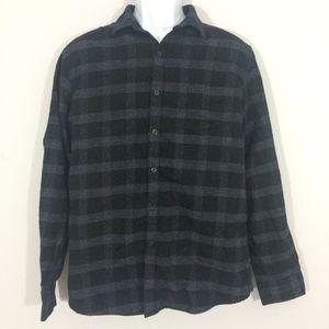 Marc Anthony Mens L Slim Fit Button Down Shirt